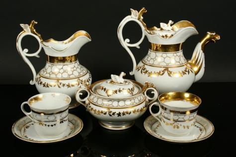 Starožitný porcelán značky
