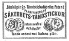 Jönköpings Tändsticksfabriks Patent